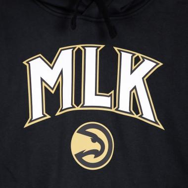 FELPA CAPPUCCIO NBA PULLOVER FLEECE ESSENTIAL CITY EDITION X MARTIN LUTHER KING  ATLHAW