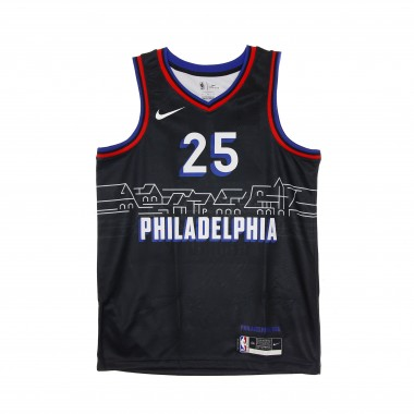 CANOTTA BASKET NBA SWINGMAN JERSEY CITY EDITION 2020 NO 25 BEN SIMMONS PHI76E