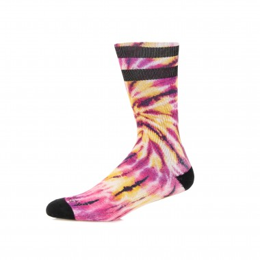 CALZA MEDIA MID HIGH TIE DYE PASSIONFRUIT