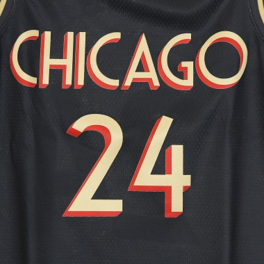 CANOTTA BASKET NBA SWINGMAN JERSEY CITY EDITION 2020 N 24 LAURI MARKKANEN CHIBUL