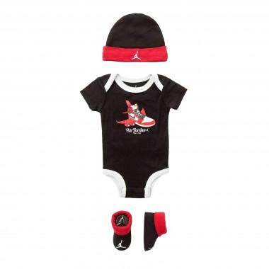 SET BODY+CAPPELLINO+CALZE AJ1 FIRST IN FLIGHT HAT/BODYSUIT SET