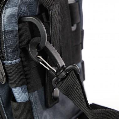 TRACOLLA CAMO UTILITY SHOULDER BAG