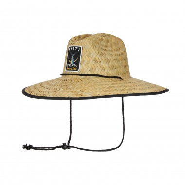 CAPPELLO CON TESA LARGA TAILED STRAW HAT