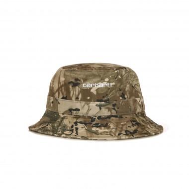 CAPPELLO DA PESCATORE SCRIPT BUCKET HAT XL