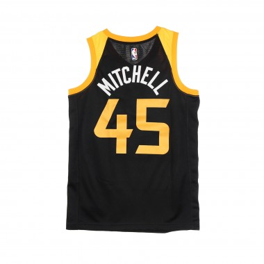 CANOTTA BASKET NBA SWINGMAN  JERSEY CITY EDITION 2020 NO 45 DONOVAN MITCHELL UTAJAZ