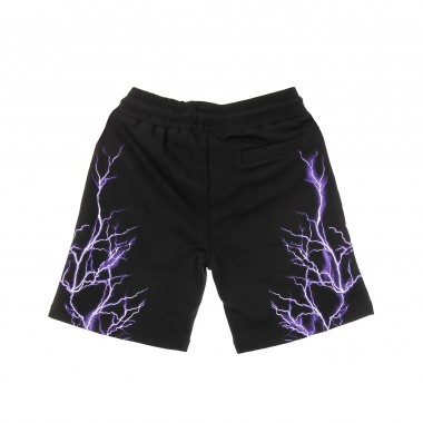 PANTALONE CORTO TUTA PURPLE LIGHTNING SHORTS