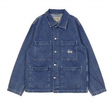 GIACCA WORKWEAR DENIM CHORE JACKET