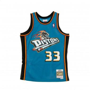 CANOTTA BASKET NBA SWINGMAN JERSEY HARDWOOD CLASSICS NO33 GRANT HILL 1998-99 DETPIS ROAD