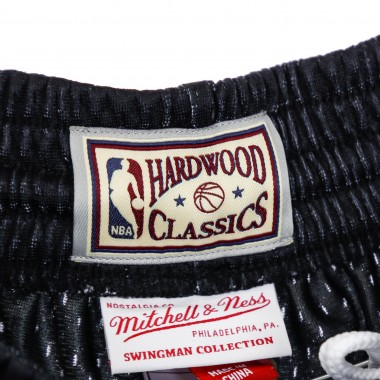 PANTALONCINO BASKET NBA SWINGMAN SHORT FLAMES HARDWOOD CLASSICS CHIBUL S