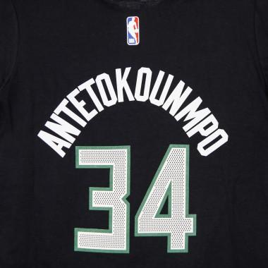 MAGLIETTA NBA NUMBER  NAME TEE STATEMENT EDITION NO 34 GIANNIS ANTETOKOUMPO MILBUC 42.5