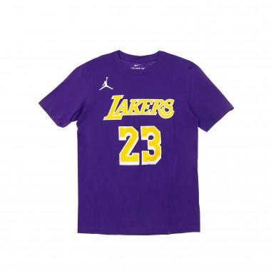 MAGLIETTA NBA NUMBER  NAME TEE JORDAN STATEMENT EDITION NO 23 LEBRON JAMES LOSLAK 42.5