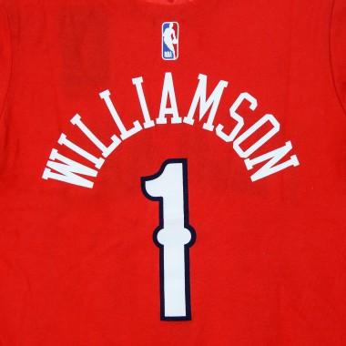 MAGLIETTA NBA NUMBER  NAME TEE JORDAN ICON EDITION NO1 ZION WILLIAMSON NEOPEL