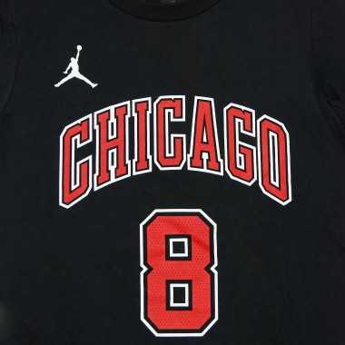 MAGLIETTA NBA NUMBER  NAME TEE JORDAN STATEMENT EDITION NO 8 ZACH LAVINE CHIBUL