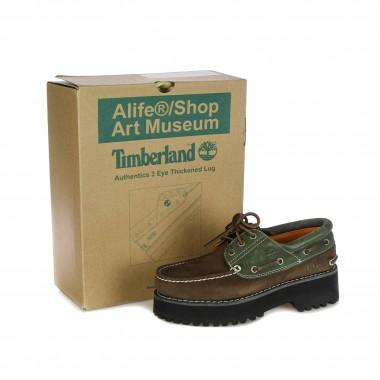 outdoor shoe man authentic 3-eye lug x alife