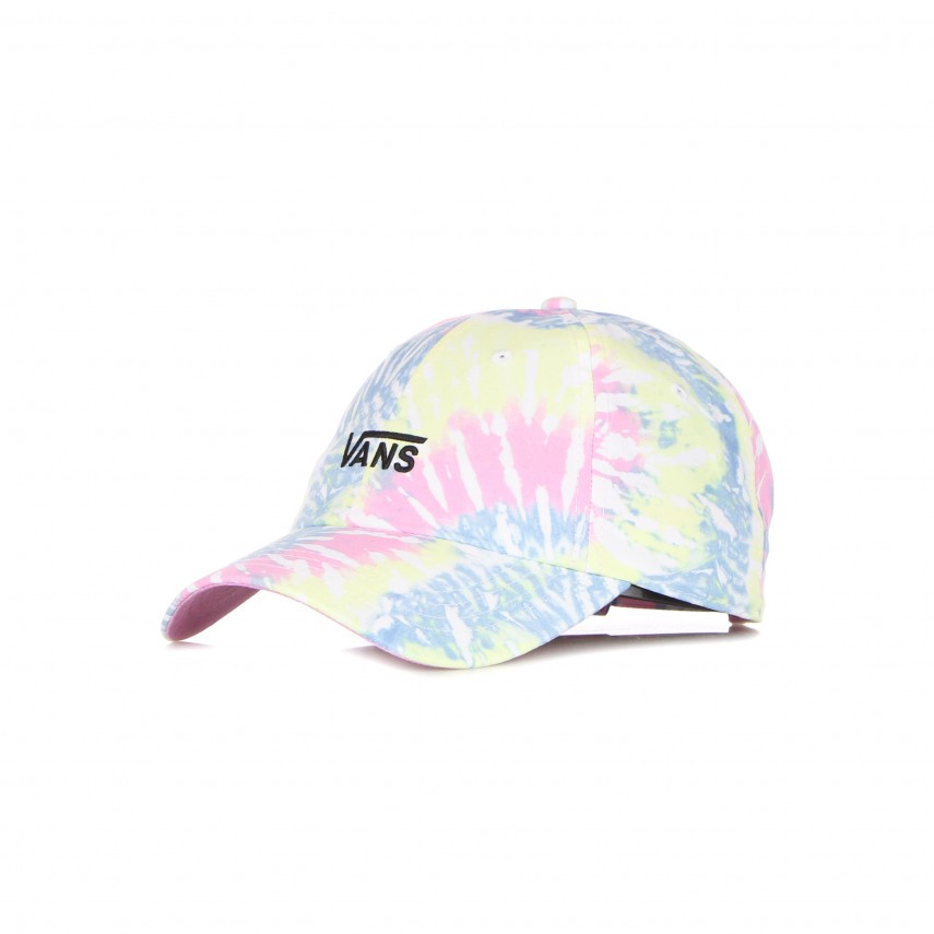 cappellino visiera curva donna court side printed tie dye hat ORCHID