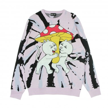 MAGLIONE UOMO SHARING IS CARING SWEATER