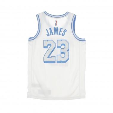CANOTTA BASKET UOMO NBA SWINGMAN JERSEY CITY EDITION 2020 N23 LEBRON JAMES LOSLAK