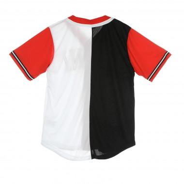 jersey with buttons man college block baseball shirt