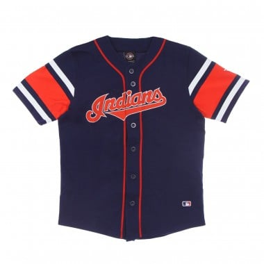 CASACCA BASEBALL UOMO MLB FRANCHISE COTTON SUPPORTERS JERSEY CLEIND 40