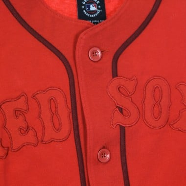 CASACCA BASEBALL UOMO MLB FRANCHISE COTTON SUPPORTERS JERSEY BOSRED 40