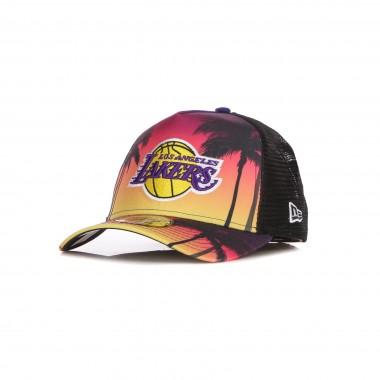 CAPPELLINO VISIERA CURVA UOMO NBA SUMMER CITY TRUCKER LOSLAK One Size