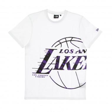 t-shirt man nba oil slick infill logo tee loslak