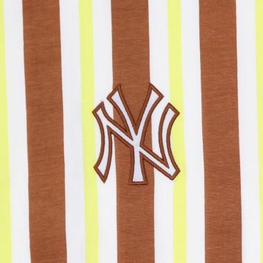 t-shirt man mlb oversized stripe tee neyyan