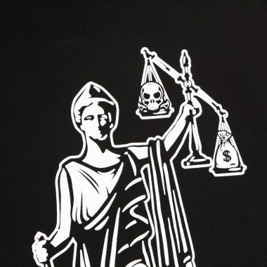 MAGLIETTA UOMO JUSTICE IS NO LONGER BLIND SUSTAINABLE TEE