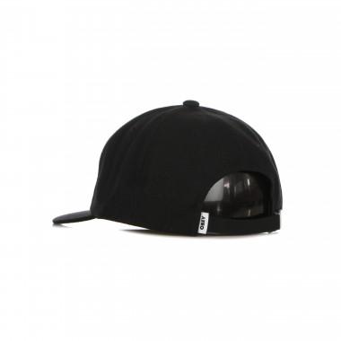 flat visor cap man serge 6 panel strapback