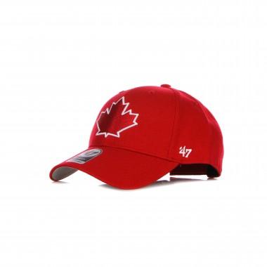 CAPPELLINO VISIERA CURVA UOMO MLB MVP TORBLU adjustable