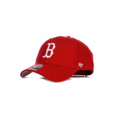 CAPPELLINO VISIERA CURVA UOMO MLB MVP BOSRED adjustable