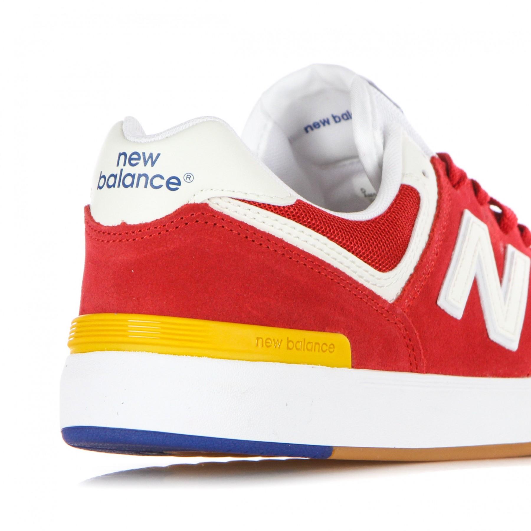 scarpa bassa uomo all coast 574 RED/WHITE