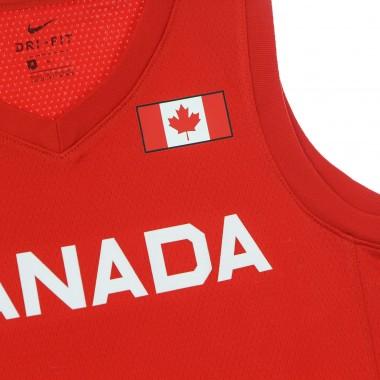 CANOTTA BASKET UOMO OLYMPICS NIKE JERSEY LIMITED CANADA ROAD