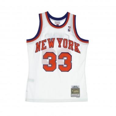 CANOTTA BASKET UOMO NBA SWINGMAN JERSEY HARDWOOD CLASSICS NO 33 PATRICK EWING 1985-86 NEYKNI