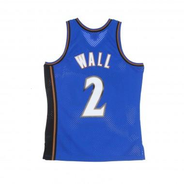CANOTTA BASKET UOMO NBA SWINGMAN JERSEY HARDWOOD CLASSICS NO 2 JOHN WALL 2010-11 WASWIZ