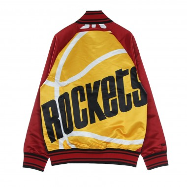 GIUBBOTTO BOMBER UOMO NBA BIG FACE COLOSSAL JACKET HARDWOOD CLASSICS HOUROC M