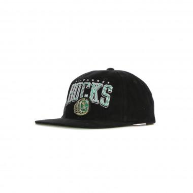 CAPPELLINO VISIERA PIATTA UOMO NBA CHAMPIONS DEADSTOCK SNAPBACK HARDWOOD CLASSICS MILBUC