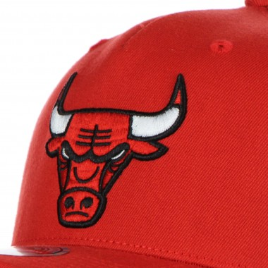 CAPPELLINO VISIERA CURVA UOMO NBA DROPBACK SOLID REDLINE SNAPBACK CHIBUL