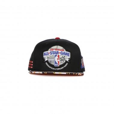 CAPPELLINO VISIERA PIATTA UOMO NBA FAST BACK SNAPBACK HARDWOOD CLASSICS ALL STAR GAME 85