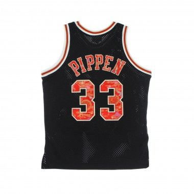 CANOTTA BASKET UOMO NBA LUNAR NEW YEAR SWINGMAN JERSEY HARDWOOD CLASSICS NO 33 SCOTTIE PIPPEN 1997-98 CHIBUL