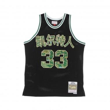 CANOTTA BASKET UOMO NBA LUNAR NEW YEAR SWINGMAN JERSEY HARDWOOD CLASSICS NO 33 LARRY BIRD 1985-86 BOSCEL