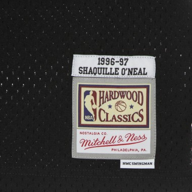 CANOTTA BASKET UOMO NBA LUNAR NEW YEAR SWINGMAN JERSEY HARDWOOD CLASSICS NO 34 SHAQUILLE ONEAL 1996-97 LOSLAK