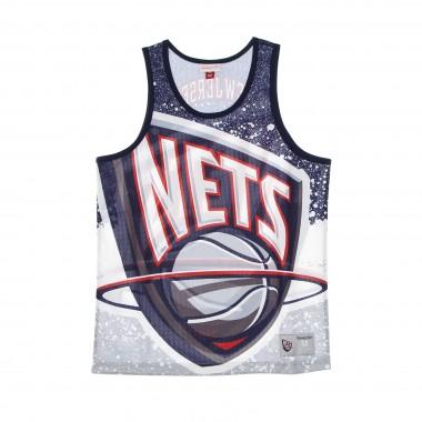 CANOTTA TIPO BASKET UOMO NBA JUMBOTRON SUBLIMATED MESH TANK HARDWOOD CLASSICS NEJNET M
