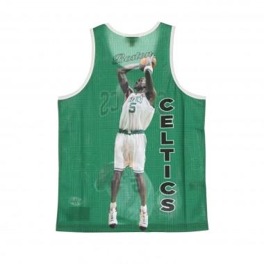 CANOTTA TIPO BASKET UOMO NBA BEHIND THE BACK TANK KEVIN GARNETT HARDWOOD CLASSICS BOSCEL M