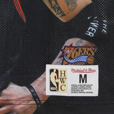 CANOTTA TIPO BASKET UOMO NBA BEHIND THE BACK TANK ALLEN IVERSON HARDWOOD CLASSICS PHI76E M