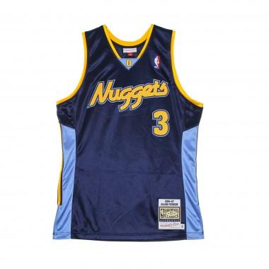 CANOTTA BASKET UOMO NBA AUTHENTIC JERSEY HARDWOOD CLASSICS NO 3 ALLEN IVERSON 2006-07 DENNUG