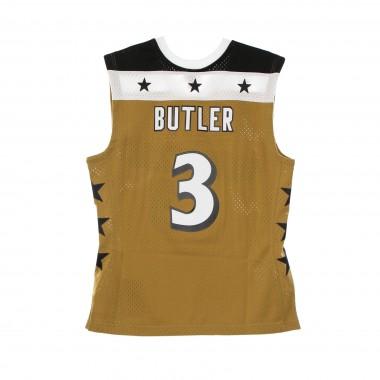 CANOTTA BASKET UOMO NBA SWINGMAN JERSEY HARDWOOD CLASSICS NO 3 CARON BUTLER 2007-08 WASWIZ