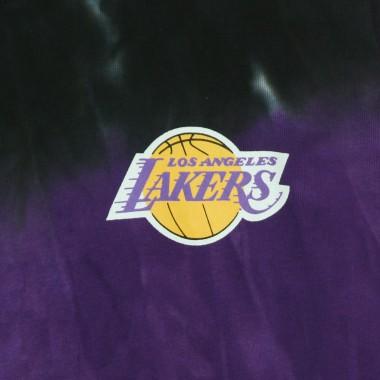 FELPA LEGGERA CAPPUCCIO UOMO NBA TIE-DYE HOODIE HARDWOOD CLASSICS LOSLAK