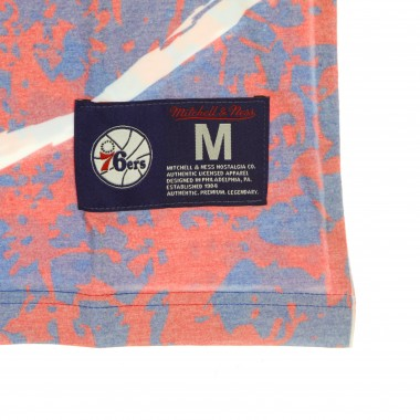 MAGLIETTA UOMO NBA JUMBOTRON TEE HARDWOOD CLASSICS PHI76E M