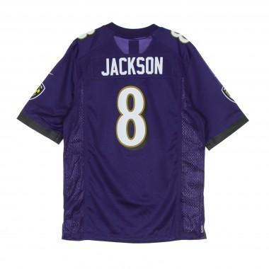 CASACCA FOOTBALL AMERICANO UOMO NFL GAME TEAM COLOUR JERSEY NO 8 JACKSON BALRAV M